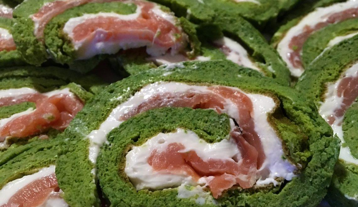 Rollè di verdure e salmone