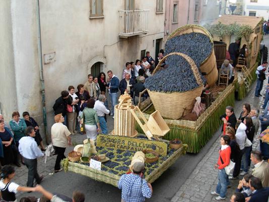 sagra dell'uva a Marino - Roma