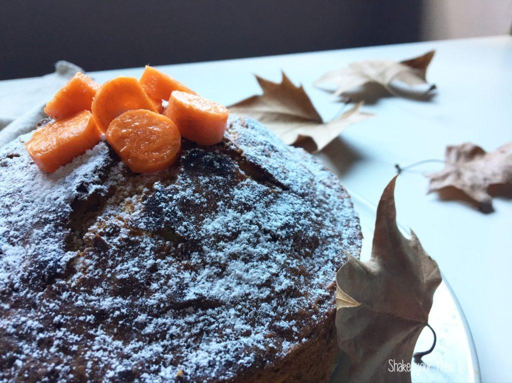 Torta di carote senza glutine