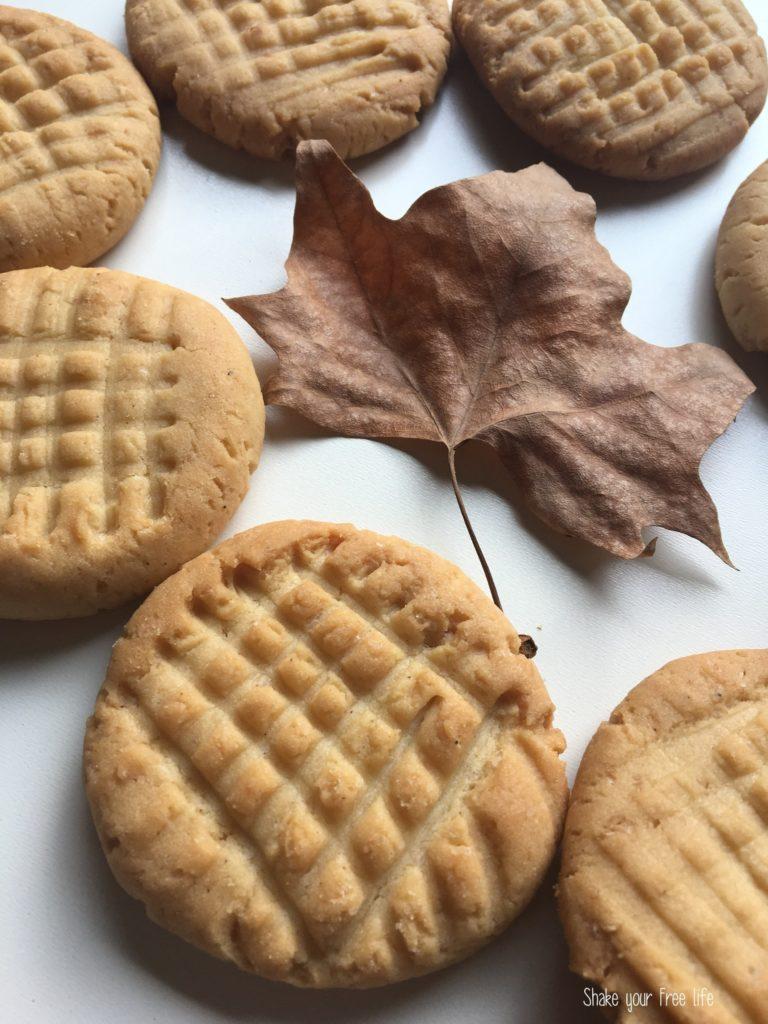 Biscotti al burro di arachidi di Jasmine
