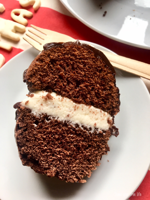 Bundt al cioccolato senza glutine