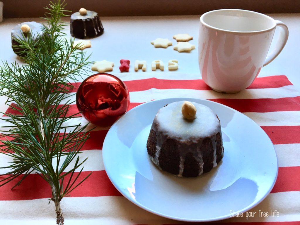 Tortino alla nocciola e cioccolato fondente
