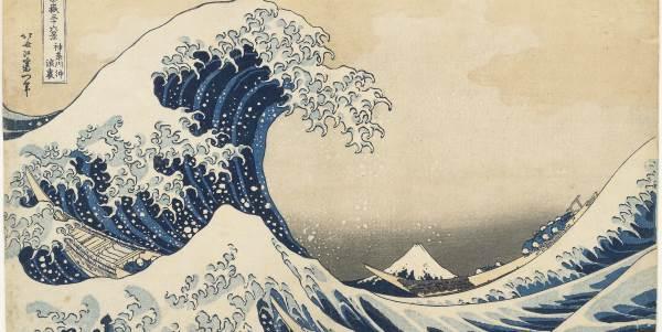 La grande onda - Hokusai