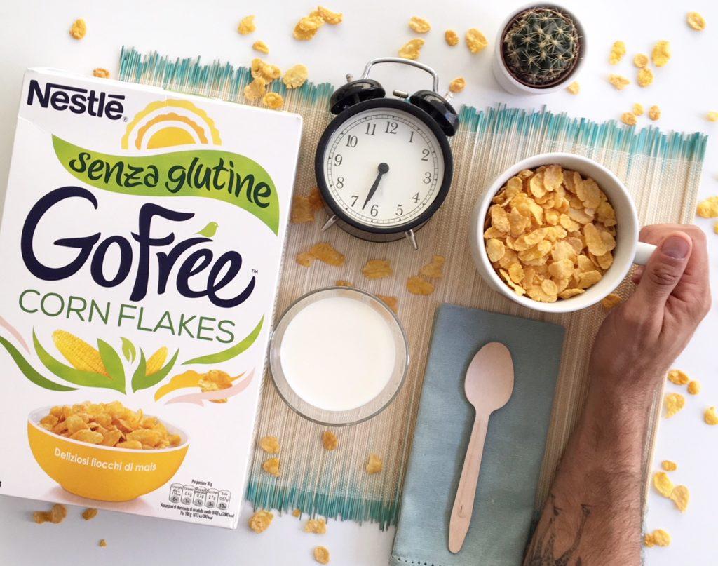 Goffe corn flakes Nestlè