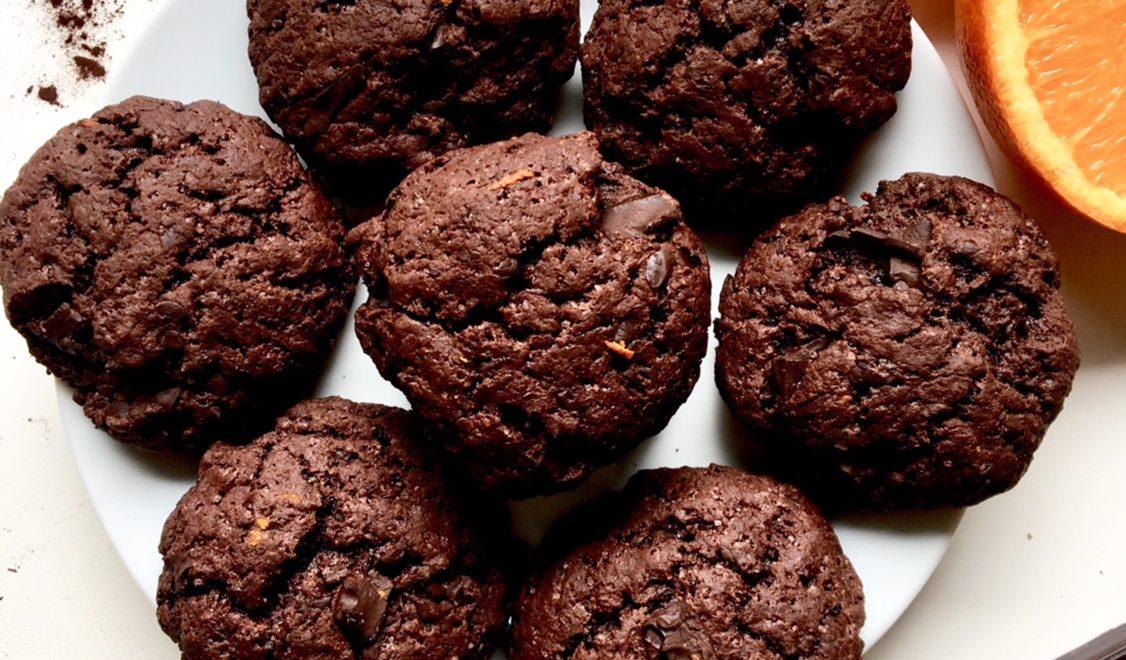 Biscotti al cacao e arancia
