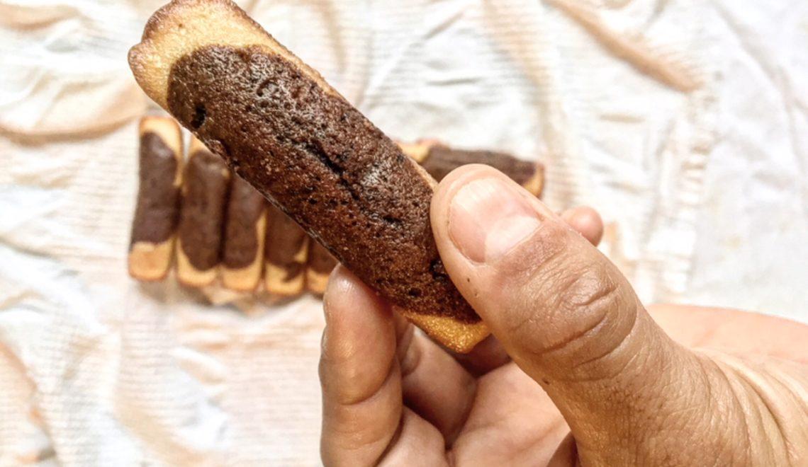 madeleines longue sans gluten
