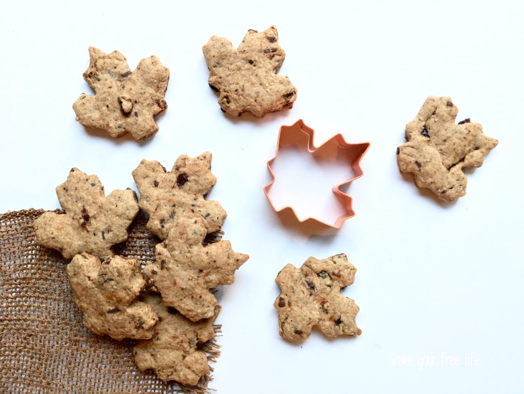 Biscotti energetici vegan senza zucchero e senza glutine