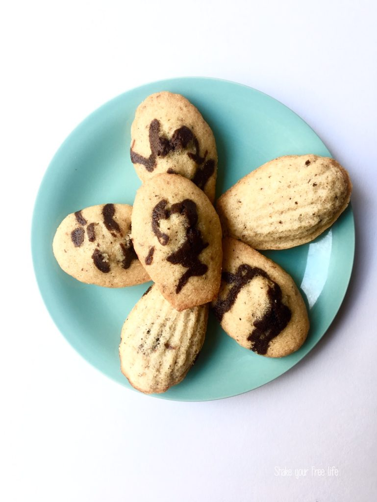 Madeleine senza burro e senza glutine