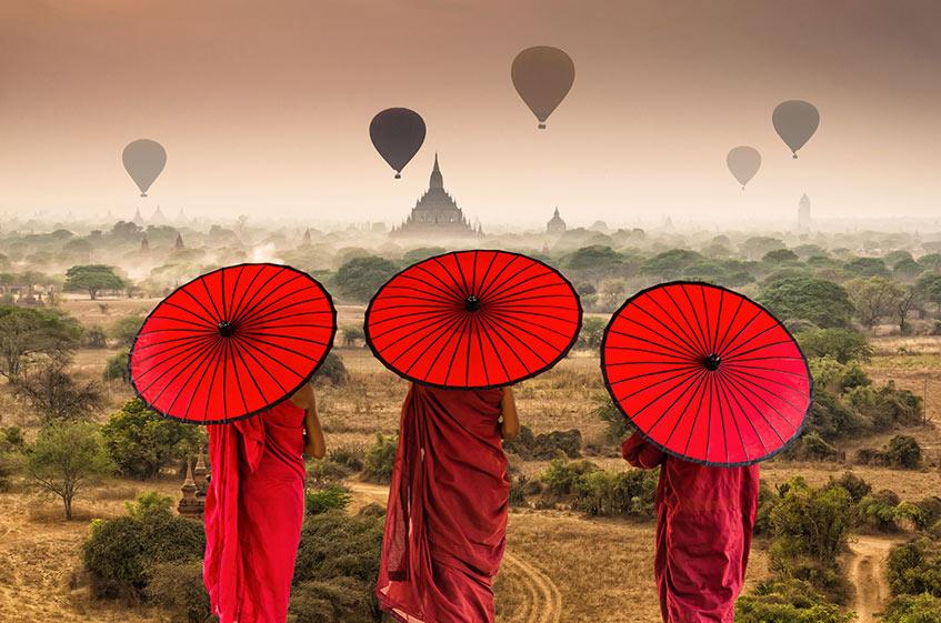 Vacanze di Natale in Birmania