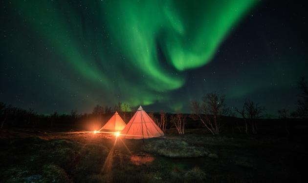 Vacanze di Natale alla ricerca delle aurore boreali