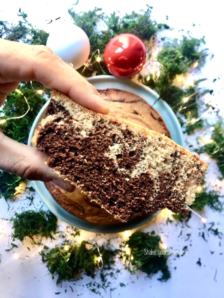 Torta cappuccino senza glutine e senza burro