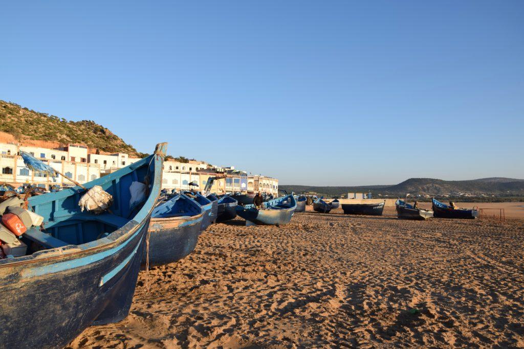 Trekking sulla costa atlantica del marocco