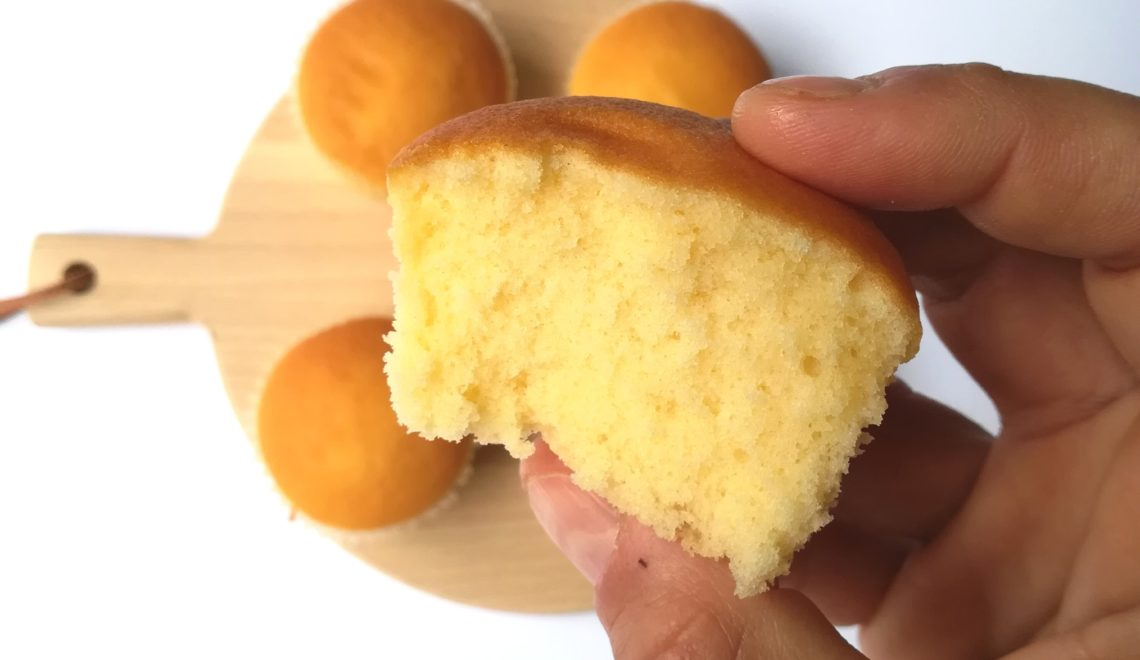 Muffin vegani arancia e curcuma senza glutine e senza lievito