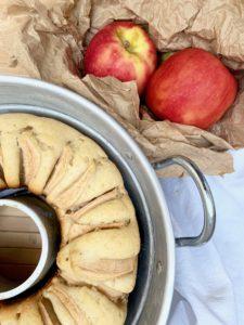 Torta di mele all'acqua senza glutine