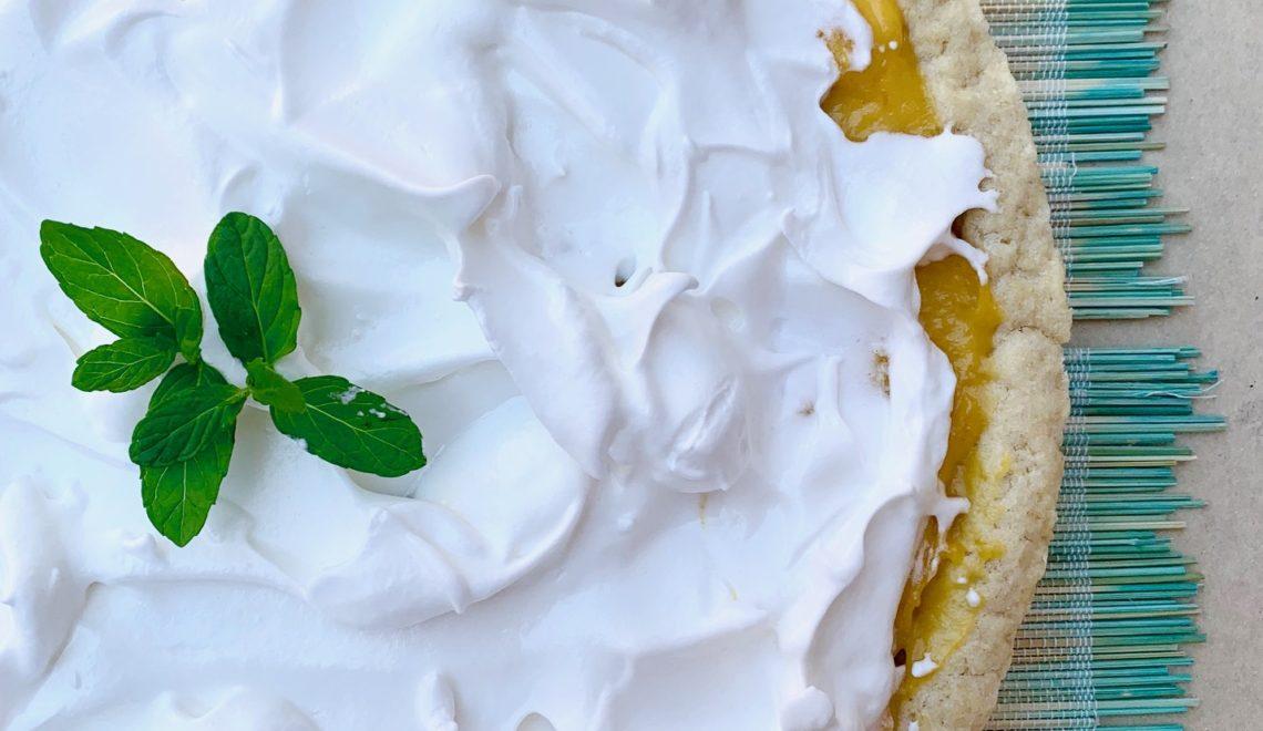 Tarte au citron senza glutine
