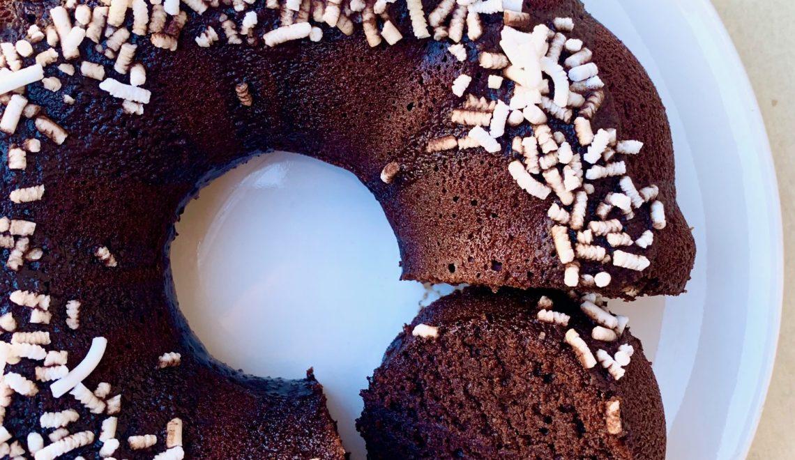 Torta veloce al cacao senza glutine