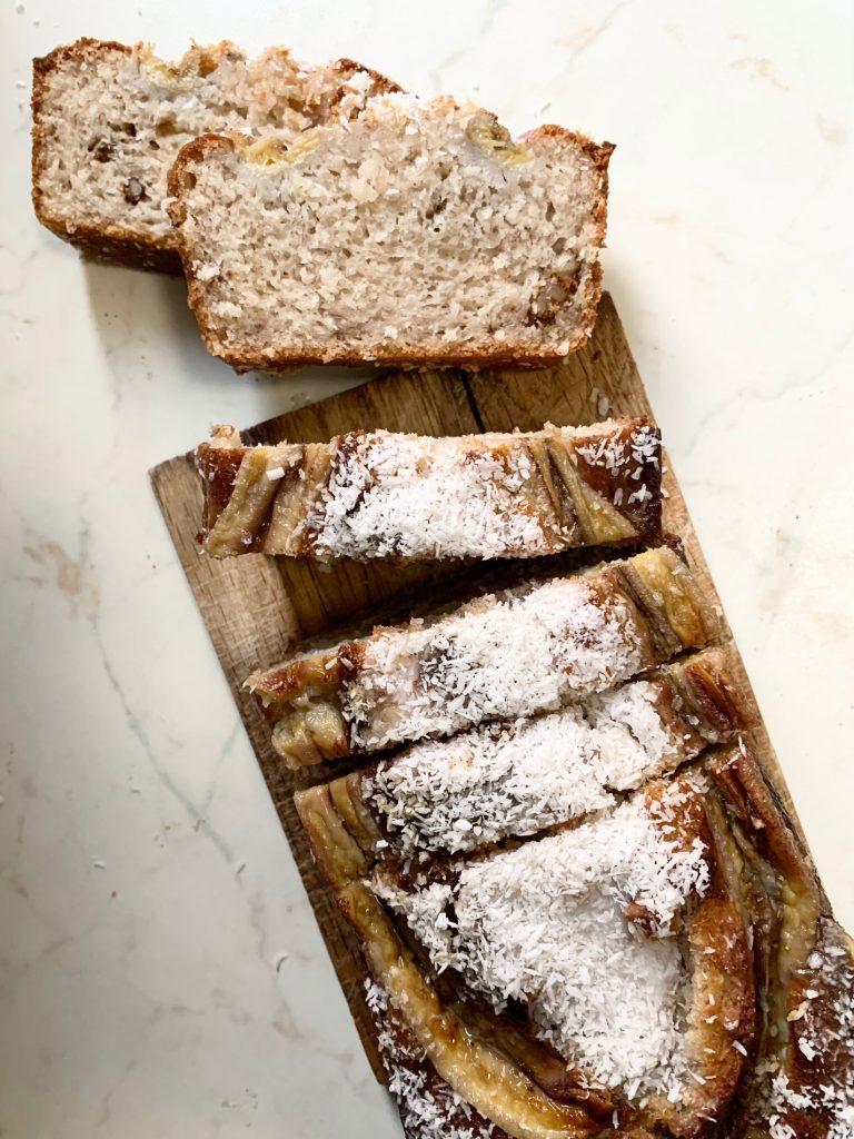 Coconut Banan Bread