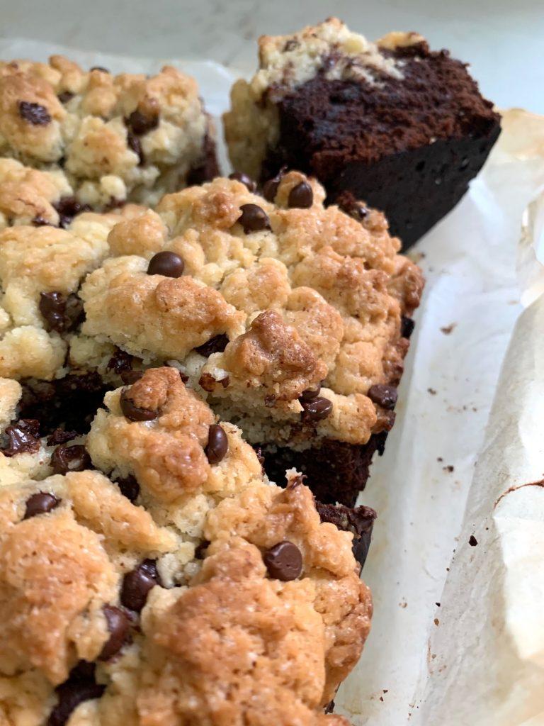 Brookies senza glutine e vegan, il dolce un po' brownies e un po' cookies