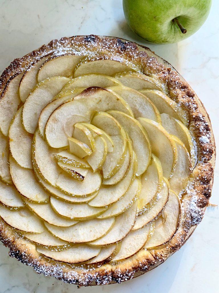 Crostata di mele verdi senza glutine
