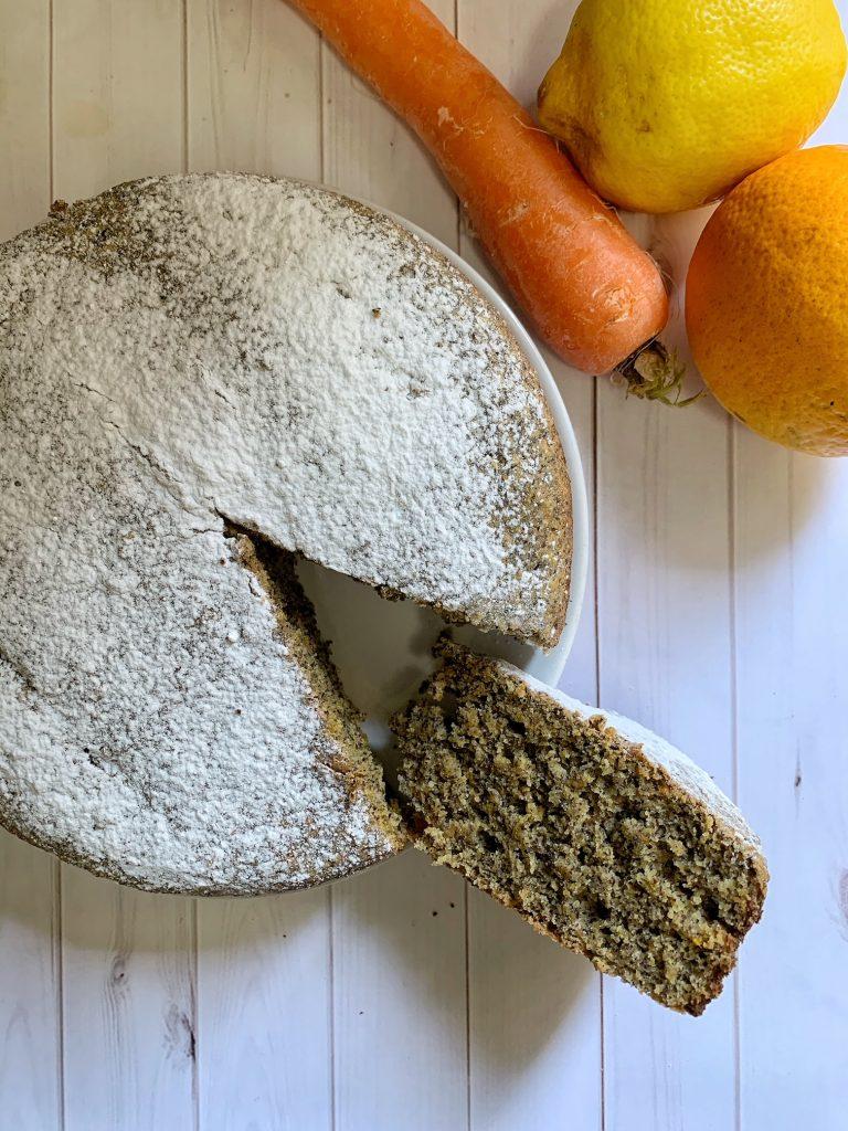 Torta ace vegan e senza glutine