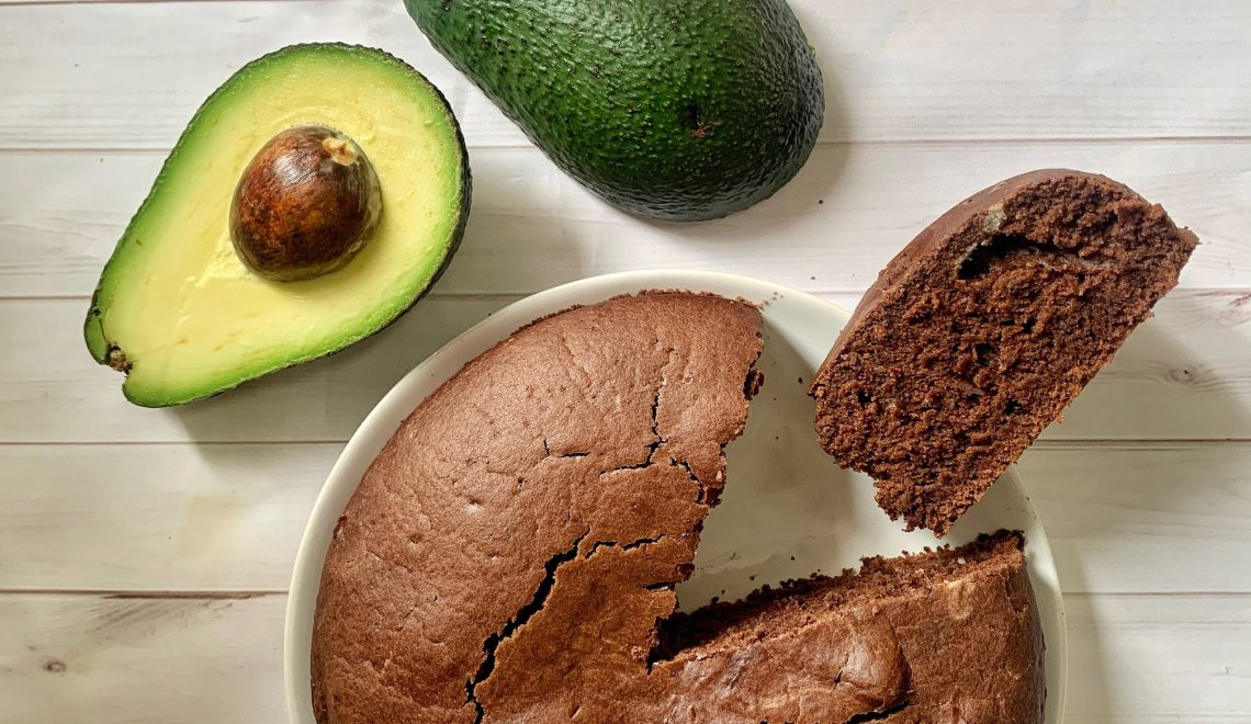 Torta al cioccolato e avocado