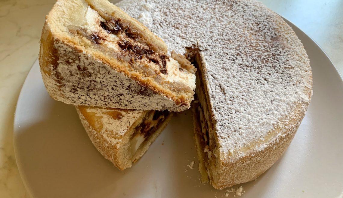 Cassata Siciliana al Forno senza burro e senza glutine